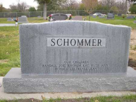 SCHOMMER, JOE J. - Dawes County, Nebraska | JOE J. SCHOMMER - Nebraska Gravestone Photos