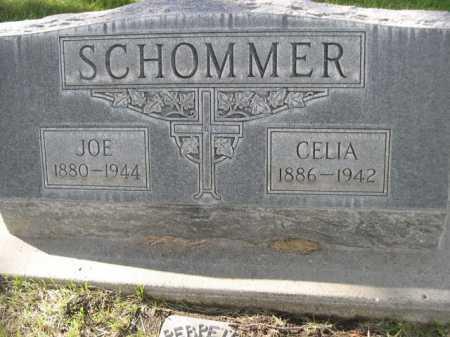 SCHOMMER, CELIA - Dawes County, Nebraska | CELIA SCHOMMER - Nebraska Gravestone Photos