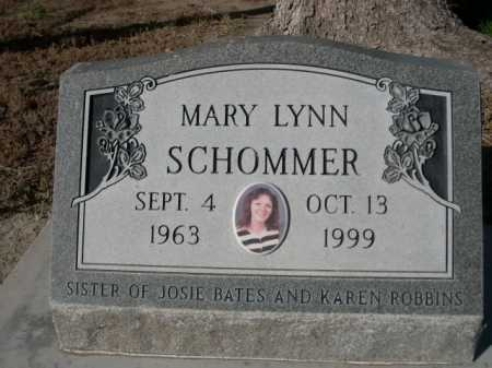 SCHOMMER, MARY LYNN - Dawes County, Nebraska | MARY LYNN SCHOMMER - Nebraska Gravestone Photos