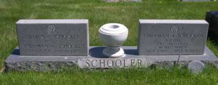 SCHOOLER, THURMAN A. - Dawes County, Nebraska | THURMAN A. SCHOOLER - Nebraska Gravestone Photos