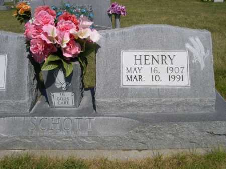 SCHOTT, HENRY - Dawes County, Nebraska | HENRY SCHOTT - Nebraska Gravestone Photos