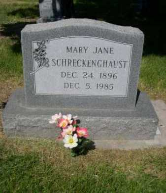 SCHRECKENGHAUST, MARY JANE - Dawes County, Nebraska   MARY JANE SCHRECKENGHAUST - Nebraska Gravestone Photos