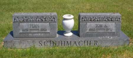 SCHUHMACHER, TOM A. - Dawes County, Nebraska | TOM A. SCHUHMACHER - Nebraska Gravestone Photos