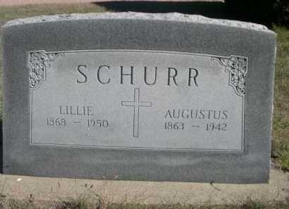 SCHURR, LILLIE - Dawes County, Nebraska | LILLIE SCHURR - Nebraska Gravestone Photos