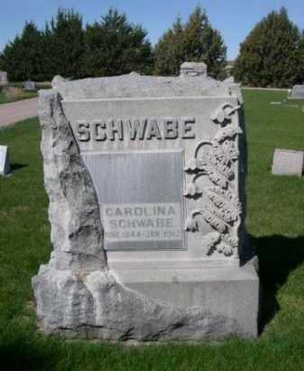 SCHWABE, CAROLINA - Dawes County, Nebraska | CAROLINA SCHWABE - Nebraska Gravestone Photos