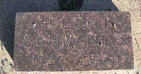 SCHWARTZ, HELEN L. - Dawes County, Nebraska | HELEN L. SCHWARTZ - Nebraska Gravestone Photos