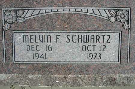 SCHWARTZ, MELVIN F. - Dawes County, Nebraska | MELVIN F. SCHWARTZ - Nebraska Gravestone Photos