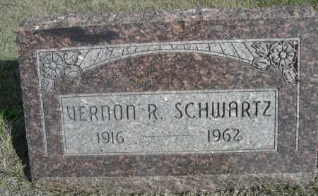SCHWARTZ, VERNON R. - Dawes County, Nebraska | VERNON R. SCHWARTZ - Nebraska Gravestone Photos