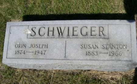 STANTON SCHWIEGER, SUSAN - Dawes County, Nebraska | SUSAN STANTON SCHWIEGER - Nebraska Gravestone Photos