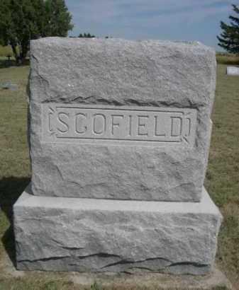 SCOFIELD, FAMILY - Dawes County, Nebraska   FAMILY SCOFIELD - Nebraska Gravestone Photos