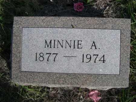 SCOFIELD, MINNIE A. - Dawes County, Nebraska | MINNIE A. SCOFIELD - Nebraska Gravestone Photos