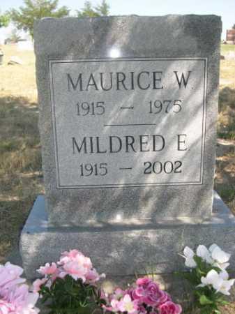SCOFIELD, MAURICE W. - Dawes County, Nebraska | MAURICE W. SCOFIELD - Nebraska Gravestone Photos