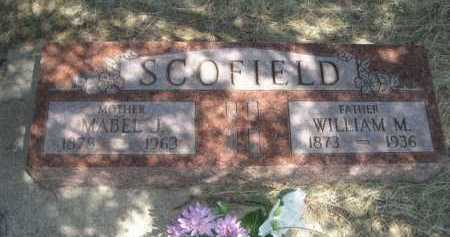 SCOFIELD, WILLIAM M. - Dawes County, Nebraska | WILLIAM M. SCOFIELD - Nebraska Gravestone Photos