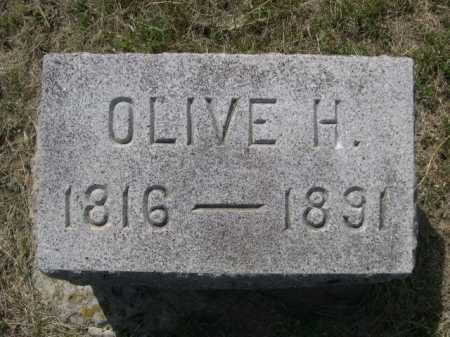 SCOFIELD, OLIVE H. - Dawes County, Nebraska | OLIVE H. SCOFIELD - Nebraska Gravestone Photos