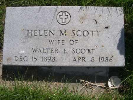 SCOTT, HELEN M. - Dawes County, Nebraska | HELEN M. SCOTT - Nebraska Gravestone Photos