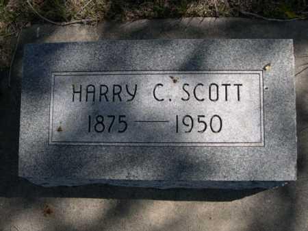 SCOTT, HARRY C. - Dawes County, Nebraska | HARRY C. SCOTT - Nebraska Gravestone Photos