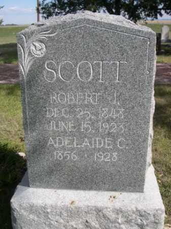 SCOTT, ROBERT J. - Dawes County, Nebraska | ROBERT J. SCOTT - Nebraska Gravestone Photos