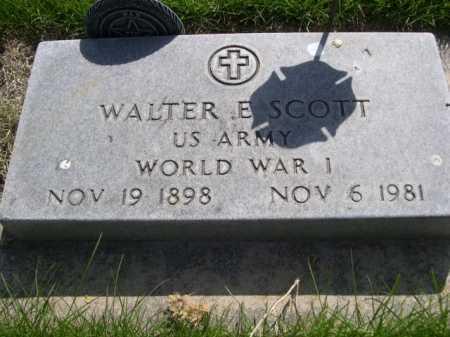 SCOTT, WALTER E. - Dawes County, Nebraska | WALTER E. SCOTT - Nebraska Gravestone Photos