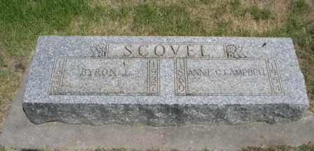 CAMPBELL SCOVEL, ANNIE G. - Dawes County, Nebraska | ANNIE G. CAMPBELL SCOVEL - Nebraska Gravestone Photos