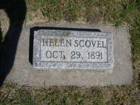 SCOVEL, HELEN - Dawes County, Nebraska | HELEN SCOVEL - Nebraska Gravestone Photos