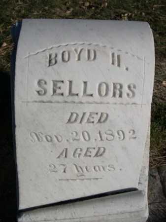 SELLORS, BOYD N, - Dawes County, Nebraska | BOYD N, SELLORS - Nebraska Gravestone Photos