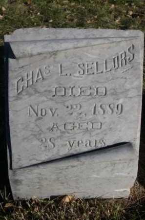 SELLORS, CHAS L. - Dawes County, Nebraska | CHAS L. SELLORS - Nebraska Gravestone Photos