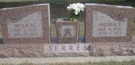 SERRES, ANDREW P. - Dawes County, Nebraska | ANDREW P. SERRES - Nebraska Gravestone Photos