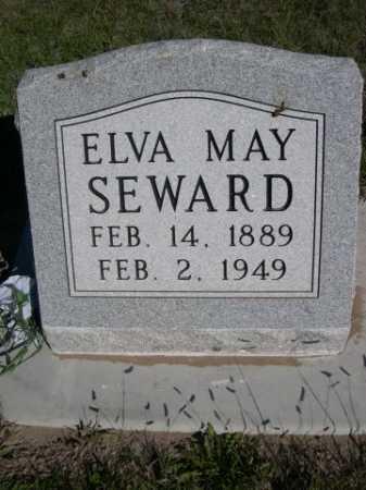 SEWARD, ELVA MAY - Dawes County, Nebraska | ELVA MAY SEWARD - Nebraska Gravestone Photos