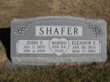 SHAFER, JOHN F. - Dawes County, Nebraska | JOHN F. SHAFER - Nebraska Gravestone Photos