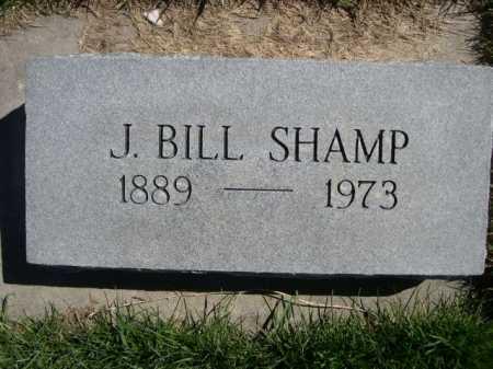 SHAMP, J. BILL - Dawes County, Nebraska | J. BILL SHAMP - Nebraska Gravestone Photos