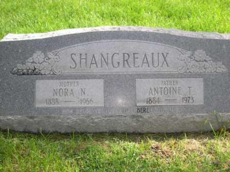 SHANGREAUX, NORA N. - Dawes County, Nebraska | NORA N. SHANGREAUX - Nebraska Gravestone Photos