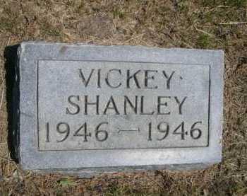 SHANLEY, VICKEY - Dawes County, Nebraska | VICKEY SHANLEY - Nebraska Gravestone Photos