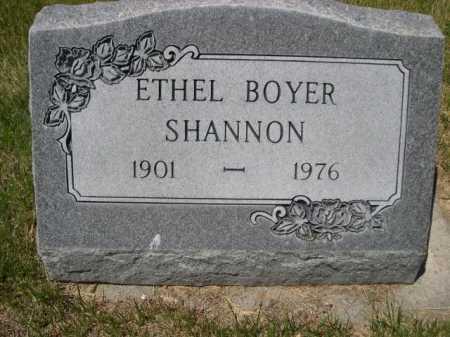 SHANNON, ETHEL - Dawes County, Nebraska | ETHEL SHANNON - Nebraska Gravestone Photos