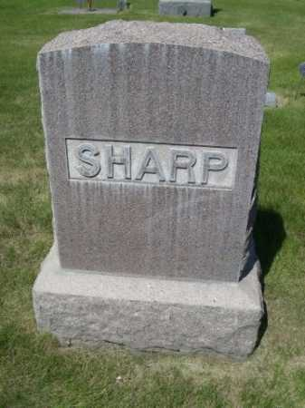 SHARP, FAMILY - Dawes County, Nebraska | FAMILY SHARP - Nebraska Gravestone Photos