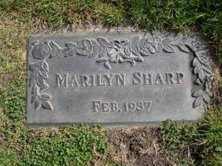 SHARP, MARILYN - Dawes County, Nebraska | MARILYN SHARP - Nebraska Gravestone Photos