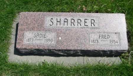 SHARRER, SADIE - Dawes County, Nebraska | SADIE SHARRER - Nebraska Gravestone Photos