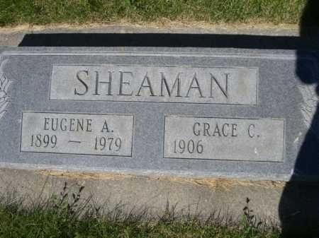 SHEAMAN, EUGENE A. - Dawes County, Nebraska | EUGENE A. SHEAMAN - Nebraska Gravestone Photos