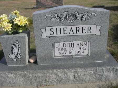 SHEARER, JUDITH ANN - Dawes County, Nebraska | JUDITH ANN SHEARER - Nebraska Gravestone Photos