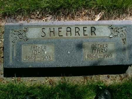 SHEARER, MARY - Dawes County, Nebraska | MARY SHEARER - Nebraska Gravestone Photos