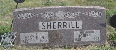 SHERRILL, HOMER F. - Dawes County, Nebraska | HOMER F. SHERRILL - Nebraska Gravestone Photos