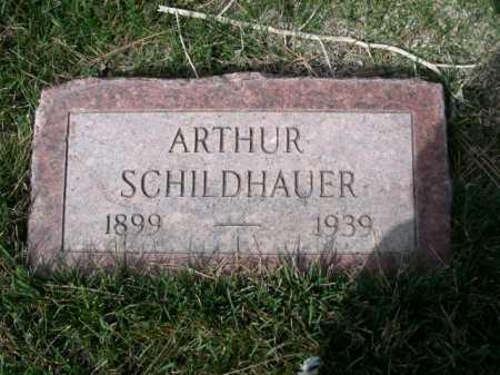 SHILDHAUER, ARTHUR - Dawes County, Nebraska   ARTHUR SHILDHAUER - Nebraska Gravestone Photos