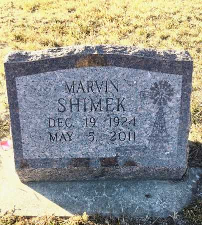 SHIMEK, MARVIN - Dawes County, Nebraska | MARVIN SHIMEK - Nebraska Gravestone Photos