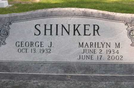 SHINKER, GEORGE J. - Dawes County, Nebraska | GEORGE J. SHINKER - Nebraska Gravestone Photos
