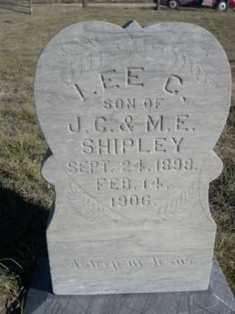 SHIPLEY, I. EE C. - Dawes County, Nebraska   I. EE C. SHIPLEY - Nebraska Gravestone Photos
