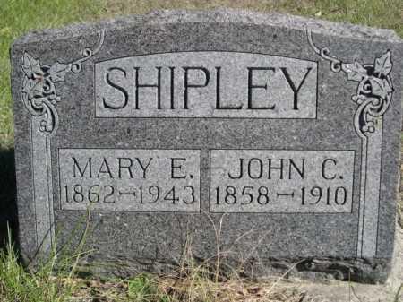 SHIPLEY, MARY E. - Dawes County, Nebraska | MARY E. SHIPLEY - Nebraska Gravestone Photos