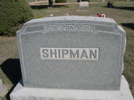 SHIPMAN, FAMILY - Dawes County, Nebraska   FAMILY SHIPMAN - Nebraska Gravestone Photos