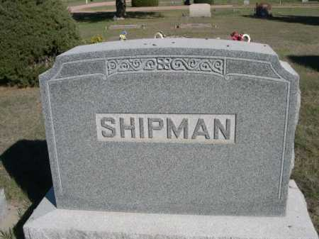 SHIPMAN, FAMILY - Dawes County, Nebraska | FAMILY SHIPMAN - Nebraska Gravestone Photos