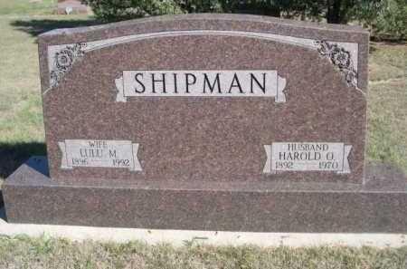 SHIPMAN, LULU M. - Dawes County, Nebraska | LULU M. SHIPMAN - Nebraska Gravestone Photos