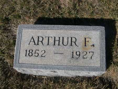 SHIRK, ARTHUR F. - Dawes County, Nebraska   ARTHUR F. SHIRK - Nebraska Gravestone Photos