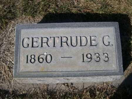 SHIRK, GERTRUDE G. - Dawes County, Nebraska | GERTRUDE G. SHIRK - Nebraska Gravestone Photos